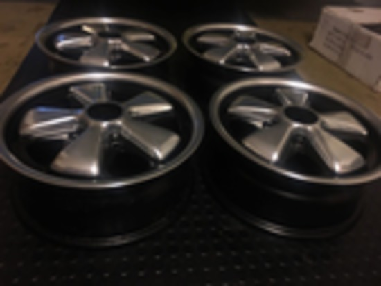 Set of original refurbished Fuchs Wheels