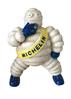Michelin Man Smoking' figure.