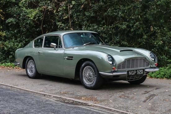 1966 Aston Martin DB6 Automatic Sports Saloon