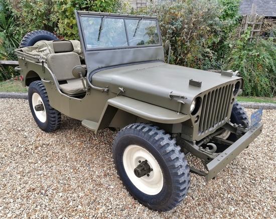 Steve McQueen's 1945 Willys Jeep MB