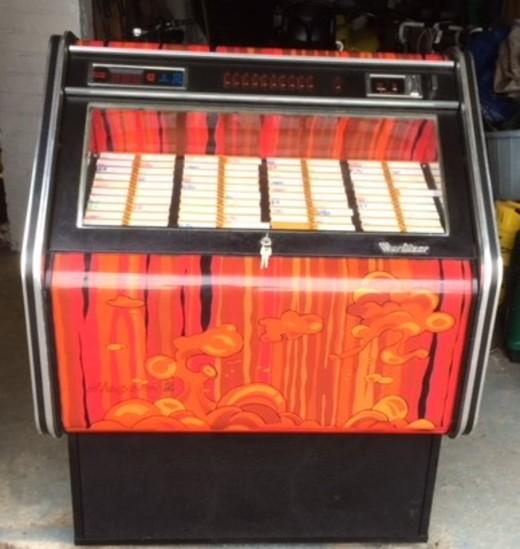 Genuine 1960s Wurlitzer juke box