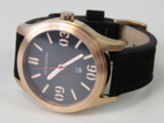 A gentleman's Aston Martin wristwatch