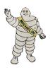 Michelin Man cast iron Figure'.