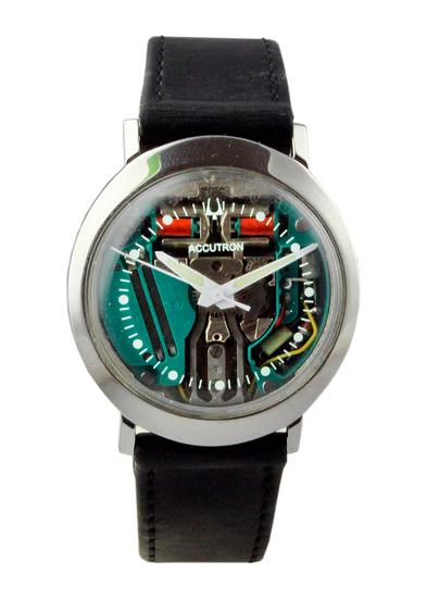1960's Bulova Accutron Spaceview Strap Watch.
