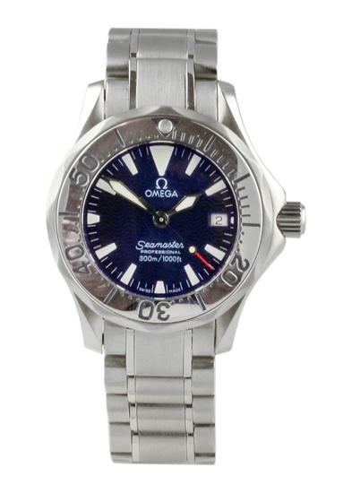 2002 Omega Seamaster Quartz Ladies