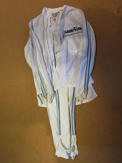 Original Les Leston race suit.