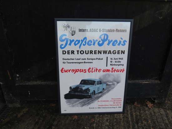1963 Grosser Preis Der Tourenwagen poster