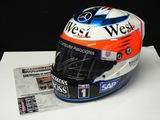Full size replica helmet, signed Kimi Raikkonen