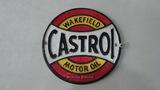 'Castrol Motor Oil' plaque.