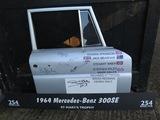 Signed Mercedes-Benz 300SE door