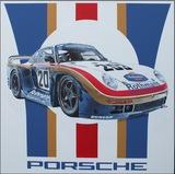 Rothmans Porsche' by Tony Upson.