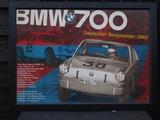 BMW 700 Deutscher Bergmeister poster