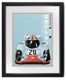 Gulf Porsche 917 'Tamiya' poster,