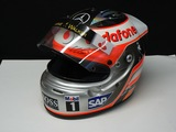 Full size replica helmet signed by Alonso.