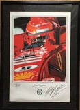 'Champion of Champions' signed by Michael Schumacher.