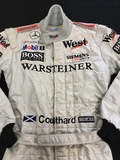 David Coulthard race suit