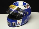 Full-size replica helmet, signed David Coulthard