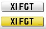 Registration mark, X1 FGT