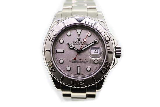 2003 Rolex Yachtmaster Stainless Steel and Platinum
