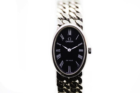Omega Jeux D'Argent Silver Bracelet Watch