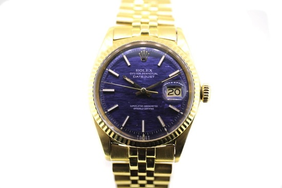C.1968 Rolex Datejust 18ct yellow gold