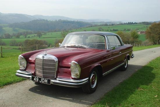 1964 Mercedes-Benz 220 SEb Fixedhead Coupe