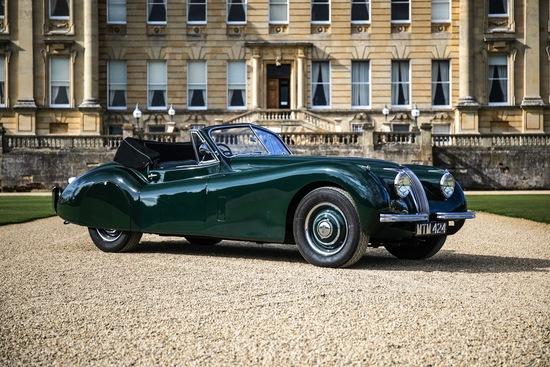 1954 Jaguar XK120 DHC