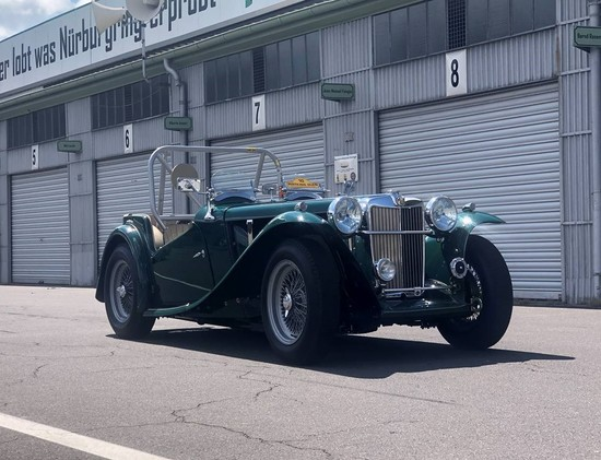 1949 MG TC Sports/Racer