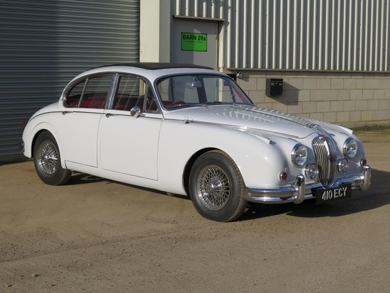 1963 Jaguar Mk2 3.4-Litre Manual/Overdrive