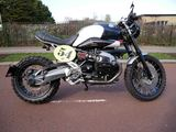 2011 BMW GS Custom Cafe Racer R1200GS TU Triple Black SE