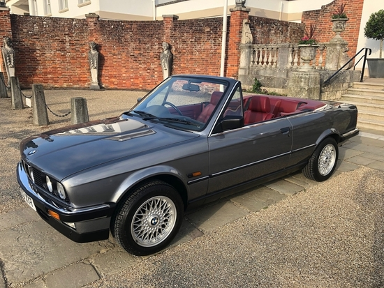 1990 BMW 325i Convertible Manual