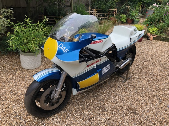 1981/82 Suzuki RGB 500 MK7/8 F1 GP Race Bike