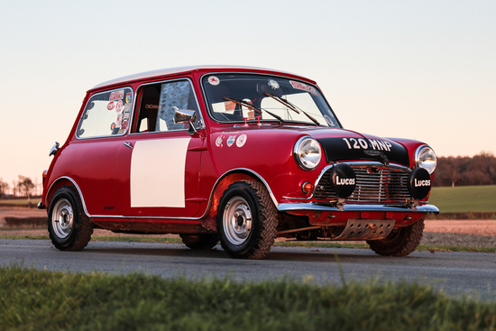 1963 Austin Mini Cooper S 'Whizzo Williams'