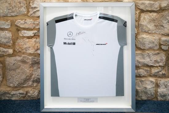 Signed 2014 McLaren shirt