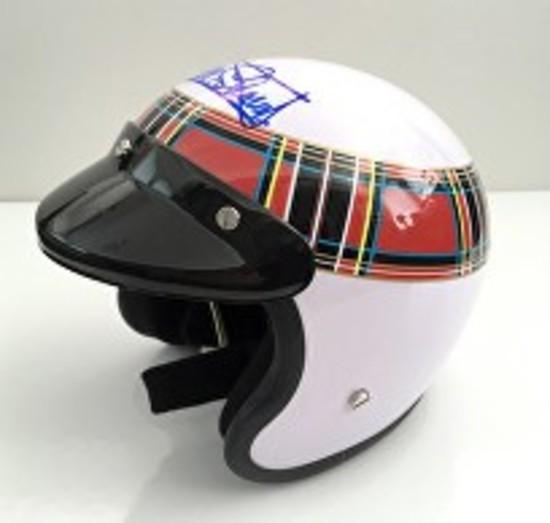 Miniature (half-scale) replica helmet