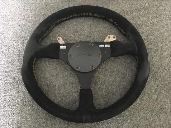 McLaren F1 GTR Steering Wheel