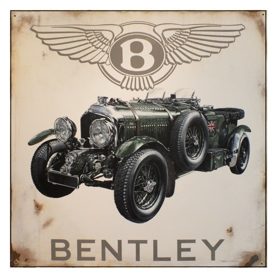 Tribute to W.O Bentley' by Tony Upson.