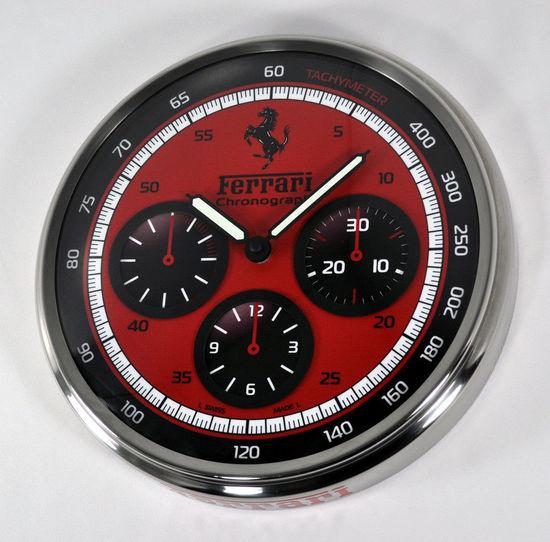 Ferrari Panerai Red Dial Clock