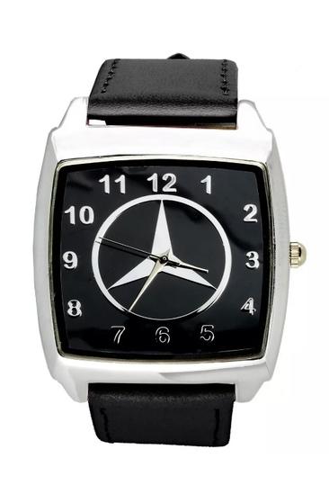 Mercedes-Benz themed TV dial wristwatch