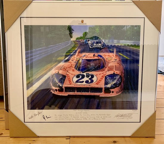 The Truffeljager' at Le Mans 1971. The Original Pink Pig