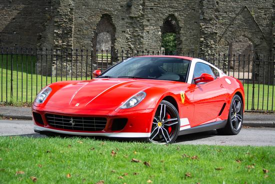 2012 Ferrari 599 GTB 60 F1 Alonso Final Edition
