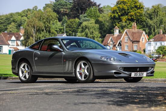 2001 Ferrari 550M