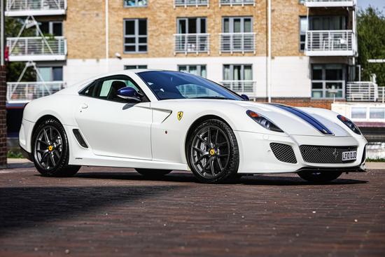 2011 Ferrari 599 GTO RHD