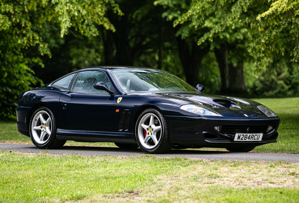2000 Ferrari 550 Maranello Manual