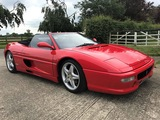 1996 Ferrari F355 Spider Manual