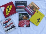 A miscellaneous selection of assorted Ferrari books