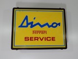 Ferrari 206/246 Dino Illuminated Service Sign 1970s