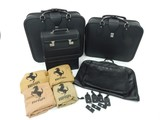 Original Ferrari 348/355 four-piece Complete Schedoni leather luggage set