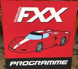 A Ferrari themed print of the FXX programme