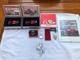 A mixed Ferrari lot